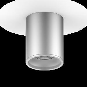 LED светильник накладной HD003 12W (хром сатин) 3000K 79x100мм 1/30