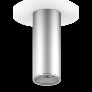 LED светильник накладной HD005 12W (хром сатин) 3000K 79x200мм 1/30