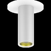 LED светильник накладной HD012 12W (белый золото) 3000K 79x200мм 1/30