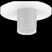 LED светильник накладной с рассеивателем HD023 6W (белый) 3000K 68х75мм 1/30