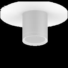 LED светильник накладной с рассеивателем HD022 6W (белый) 4100K 68х75мм 1/30