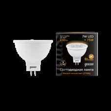 Лампа Gauss LED MR16 GU5.3 7W 2700K 1/10/100