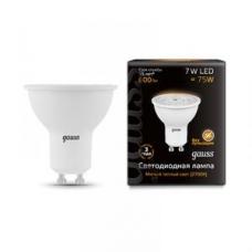 Лампа Gauss LED MR16 GU10 7W 2700K 1/10/100