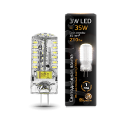 Лампа Gauss LED G4 AC150-265V 3W 2700K 1/20/200