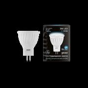 Лампа Gauss LED D35*45 3W MR11 GU4 4100K 1/10/100