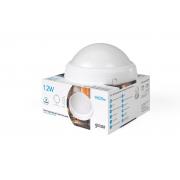Светодиодный светильник Gauss круглый IP65 12W 6500K 1/12