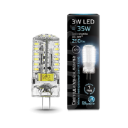 Лампа Gauss LED G4 12V 3W 4100K 1/20/200