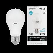Лампа Gauss LED Elementary A60 10W E27 4100K 1/10/40