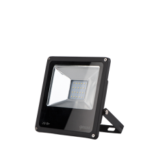 Прожектор светодиодный Gauss LED 20W IP65 6500К черный 1/16