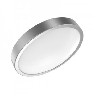 Светильник светодиодный Gauss LED 12W IP20 4100К круглый серебро 1/5 (кольцо серебро)