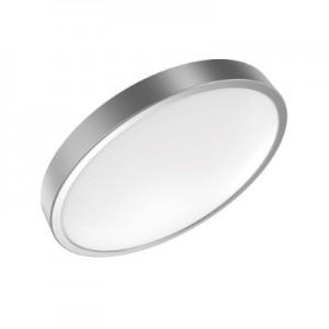 Светильник светодиодный Gauss LED 18W IP20 4100К круглый серебро 1/5 (кольцо серебро)