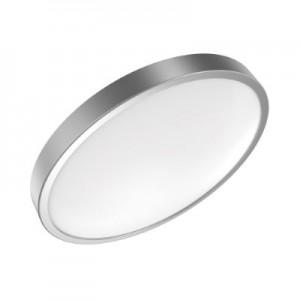 Светильник светодиодный Gauss LED 24W IP20 4100К круглый серебро 1/5 (кольцо серебро)