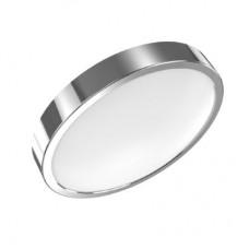 Светильник светодиодный Gauss LED 12W IP20 4100К круглый хром 1/5 (кольцо хром)