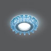 Светильник Gauss Backlight BL038 Кругл. Кристалл/Хром, Gu5.3, LED 4100K 1/40