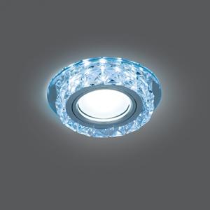 Светильник Gauss Backlight BL040 Кругл. Кристалл/Хром, Gu5.3, LED 4100K 1/40