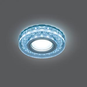 Светильник Gauss Backlight BL045 Кругл. Кристалл/Хром, Gu5.3, LED 4100K 1/40