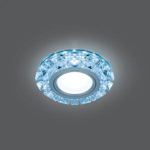 Светильник Gauss Backlight BL050 Кругл. Кристалл/Хром, Gu5.3, LED 4100K 1/40