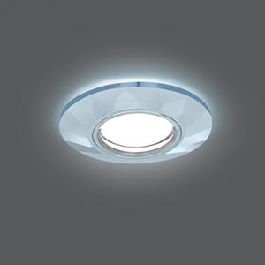 Светильник Gauss Backlight BL057 Круг Гран. Кристалл/Хром, Gu5.3, LED 4100K 1/40