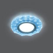 Светильник Gauss Backlight BL067 Круг гран. Белый/Серебро/Хром, Gu5.3, LED 4100K 1/40