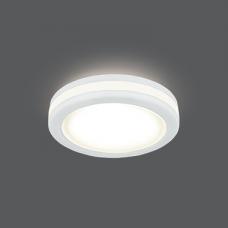 Светильник Gauss Backlight BL098 Кругл. Белый, 5W, LED 3000K 1/60