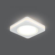 Светильник Gauss Backlight BL100 Квадрат. Белый, 5W, LED 3000K 1/60