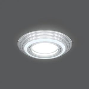 Светильник Gauss Backlight BL139 Кругл. Хром. Gu5.3, 3W, LED 4000K 1/40