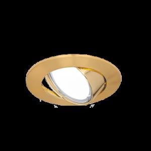 Светильник Gauss Metal CA007 Круг. Золото, Gu5.3 1/100