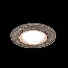 Светильник Gauss Antique CA027 Круг. Бронза, Gu5.3 1/100