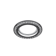 Светильник Gauss Strass CA031 Круг. Кристал/Черный, Gu5.3 1/30
