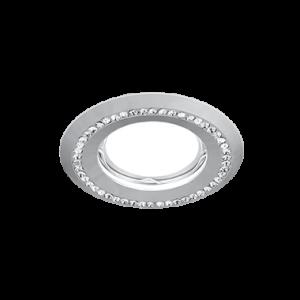 Светильник Gauss Strass CA032 Круг. Кристал/Хром, Gu5.3 1/30