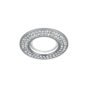 Светильник Gauss Strass CA034 Круг. Кристал/Хром, Gu5.3 1/30