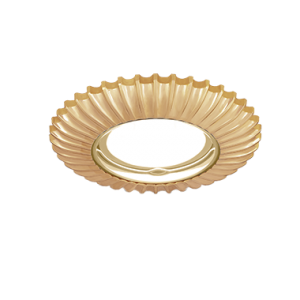 Светильник Gauss Metal Exclusive CA063 Круг. Золото, Gu5.3 1/100