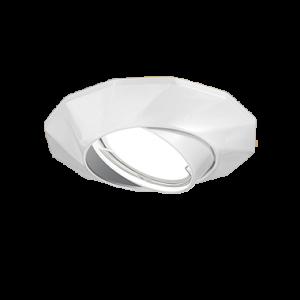 Светильник Gauss Metal Exclusive CA076 Круг. Белый перламутр, Gu5.3 1/100