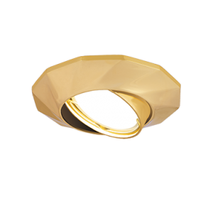 Светильник Gauss Metal Exclusive CA077 Круг. Золото, Gu5.3 1/100
