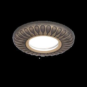 Светильник Gauss Antique Exclusive CA082 Круг. Бронза, Gu5.3 1/100