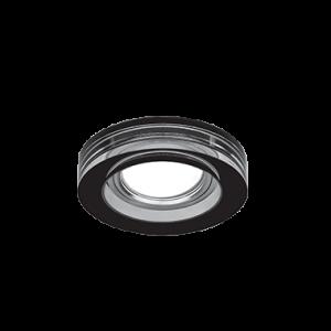 Светильник Gauss Glass CR036 Черный, Gu5.3 1/30