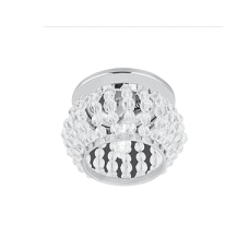 Светильник Gauss Brilliance CR047, Кристалл/Хром, Gu5.3 1/50