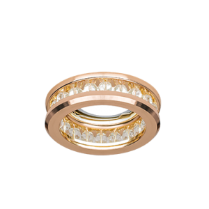 Светильник Gauss Brilliance CR049, Кристалл/Золото, Gu5.3 1/50