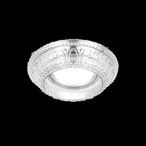 Светильник Gauss Glass CR054 Кристалл/Хром, Gu5.3 1/30