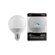 Лампа Gauss LED G95-dim 14W E27 4100K диммируемая 1/10/40