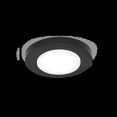 Светильник Gauss Tablet GX202 Круг. Кристалл/Черный, GX53 1/50