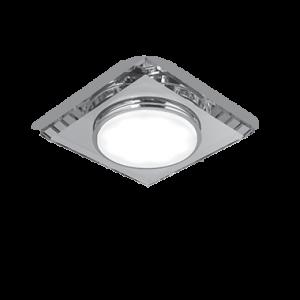 Светильник Gauss Tablet GX204 Квадрат. Кристал, GX53 1/50