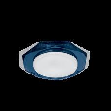 Светильник Gauss Tablet GX209 Восемь гран. Кристал Синий, GX53 1/50