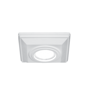 Светильник Gauss Gypsum GY005 белый, Gu5.3, d102 1/24