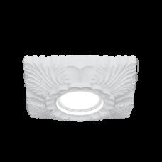 Светильник Gauss Gypsum GY007 белый, Gu5.3, d150 1/24