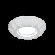 Светильник Gauss Gypsum GY011 белый, Gu5.3, d150 1/24