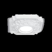 Светильник Gauss Gypsum GY014 белый, Gu5.3, d150 1/24