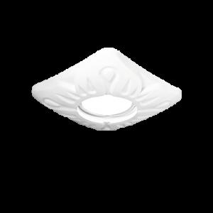 Светильник Gauss Gypsum Exclusive GY017 белый, Gu5.3 1/24