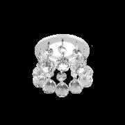 Светильник Gauss Brilliance PT005, Кристалл/Хром, Gu5.3 1/30