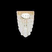 Светильник Gauss Brilliance PT008 Кристалл/Золото, Gu5.3 1/30